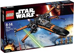 Poe's X-Wing Starfighter box1