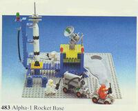 483 Alpha-1 Rocket Base