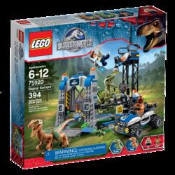 Jurassic World LEGO Raptor Escape box
