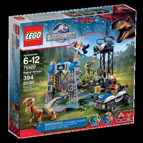File:Jurassic World LEGO Raptor Escape box.png