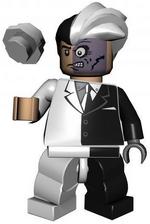Two Face LEGO Batman