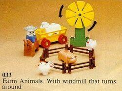 033-Farm Set Animals