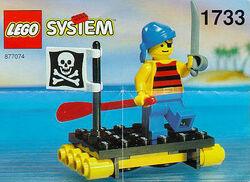 1733 - Shipwrecked Pirate