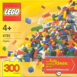 4781 Bulk Set-300 Bricks