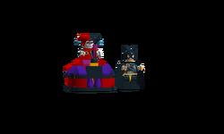 Batgirl vs Harleys Scooter