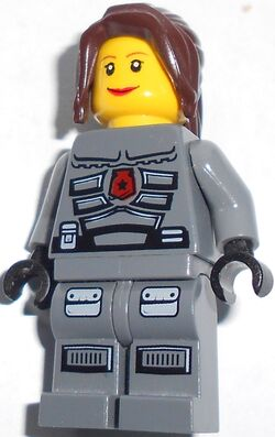 Custom Female Space Policewoman
