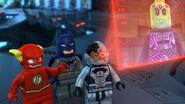 Lego Justice League Cosmic Clash Batcave