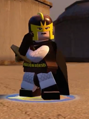 Lego black knight