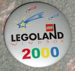 Pin20 Legoland Windsor - 2000