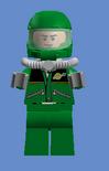 Green Mech-Pilot Captain