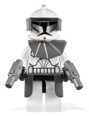 Clone Commander Gray Armor