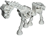 Lego white skeleton horse
