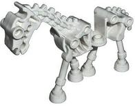 Lego white skeleton horse