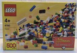 4780 Bulk Set - 500 Bricks