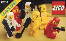 6701-Space Mini-Figures