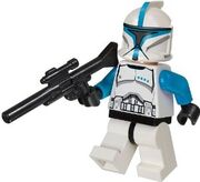 Clone Trooper Lieutenant with Sniper Rifle