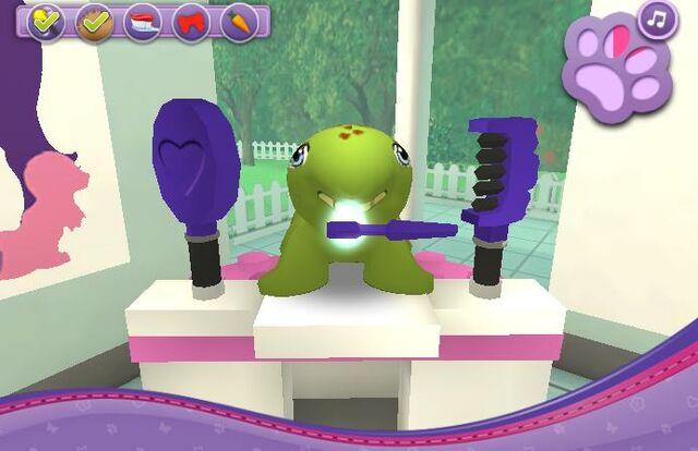 File:Brushing Turtle's teeth.jpg