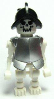 Silver Conquistador Skeleton