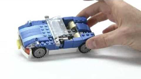 LEGO® Creator - Blue Roadster with roof