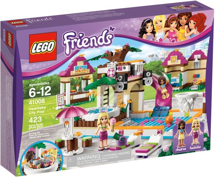 41008 heartlake city pool brickipedia fandom powered for Piscina lego friends