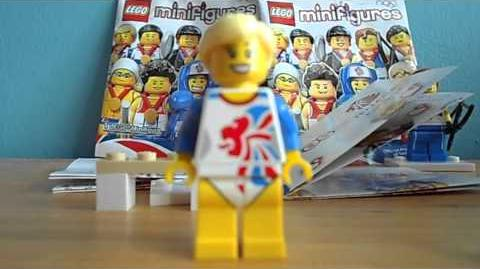 CGCJ 8909 Team GB Minifigures review