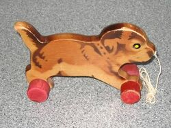 Wooden lemming