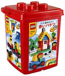 7616-Basic Red Bucket