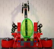 Brickmaster Atlantis - Bohrstation Rückansicht