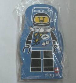 4229641-Memo Pad Minifig - (T) Divers