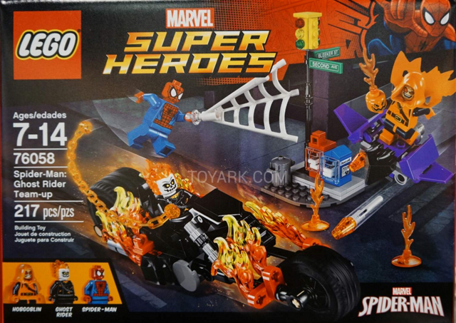 File:Spider man - ghost rider team-up.png