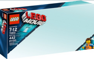 Lego movie box