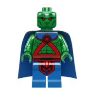 MartianManhunter Lego minifigure
