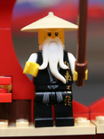 Toy Fair Sensei Wu Black Robes