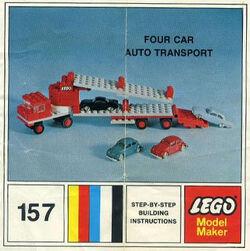 157-Four Car Auto Transport
