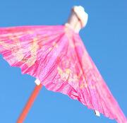 Free Pink Drink Umbrella Creative Commons