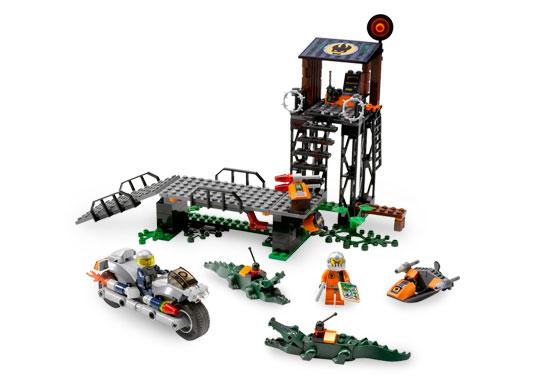 Lego swamp raid