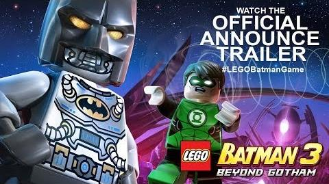 LEGO Batman 3 Beyond Gotham Official Announce Trailer