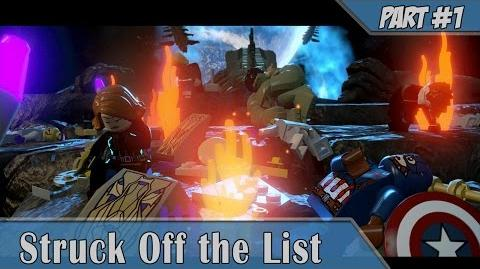 Lego Marvel Avengers -1 Struck Off the List COOP
