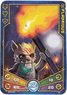 Flamious Weapon card