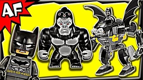 Batman GORILLA GRODD goes Bananas 76026 Lego DC Comics Super Heroes Stop Motion Set Review