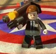 Agent with destroyer gun