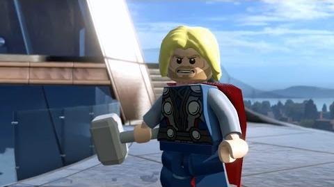 LEGO Marvel's Avengers - Gameplay Demo @ E3 2015 TRUE-HD QUALITY
