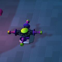 Quick Build at the Alien Queen battle