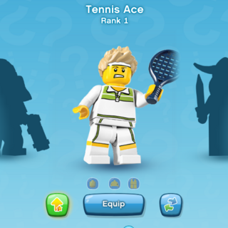 Tennis Ace in the character tab.