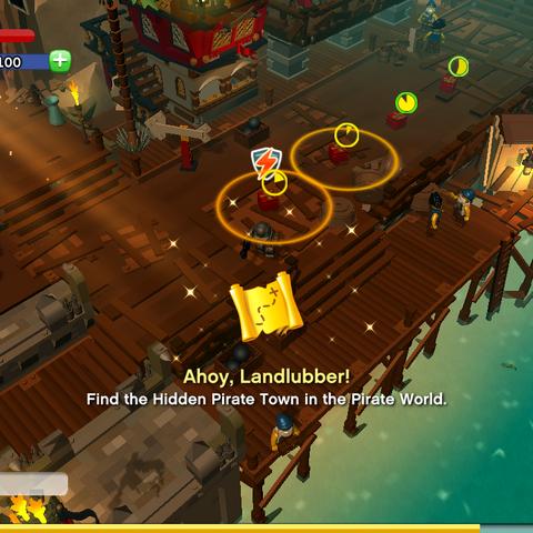 Ahoy, Landlubber! Achievement awarded