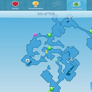 Skitter Scatter! Location World Map