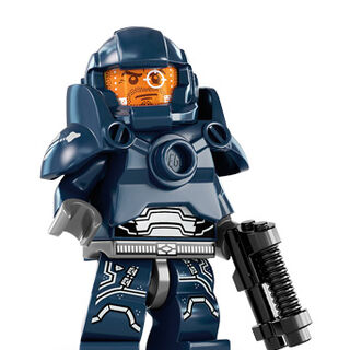 Full view of the minifigure