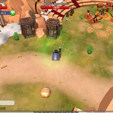 Roar, the Gladiator's Location