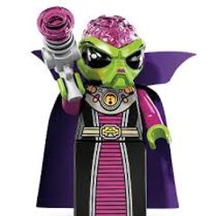 Alien Villainess as seen on the LEGO Minifigures Series 8