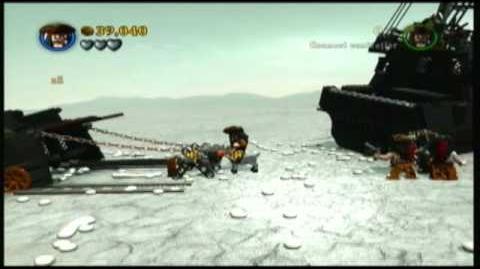 Lego Pirates of the Caribbean - Part 2 of Davy Jones' Locker